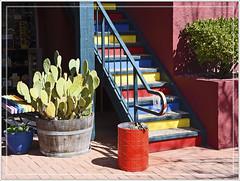 Colorful Stairway (Runemaker) Tags: sedona arizona stairway staircase stairs