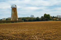 Old derelict Wind Pump at Sutton, Norfolk (Geordie_Snapper) Tags: 2470mm bactonholiday canon7d2 eastanglia hinkley landscape march norfolk overcast spring suttonwindmill windmill