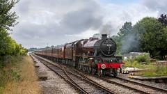 5690 'Leander' (mike.online) Tags: lms steam locomotive 5690 jubilee britishrailways bamberbridge londonmidlandscottish rail railway steamlocomotive mikeonline canon eos railroad transport