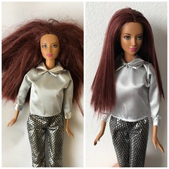 Saved Trifted Dollie ID please (an_drew_here) Tags: dollrepair id triftshop makeover barbiedoll mattel doll barbie