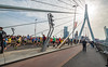 Rotterdam Marathon - Erasmus bridge (Michel Kalousdian) Tags: nikond5600 nikkor1024mmf3545g rotterdam marathon erasmusbrug erasmusbridge torenopzuid toweronsouth