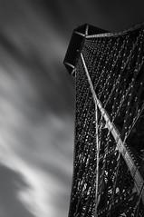Torre Eiffel (Miguel Ángel Giménez-Murcianico) Tags: blancoynegro blackandwhite filtros canon haida nubes fuga velocidad