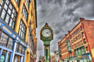 Historic Lowell Clock