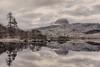 Loch Druim Suardalain (Andrew G Robertson) Tags: suilven snow reflection loch glencanisp druim suardalain assynt scotland landscape coigach