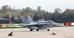 Ejército del Aire McDonnell Douglas EF-18M Hornet C.15-69/12-27, Ala 12 at Malaga AFB/LEMG for DAPEX-18 (Mosh70) Tags: malagacostadelsolairport lemg ejércitodelaire mcdonnelldouglas ef18mhornet ala12 dapex18