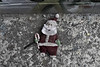 Santa (Aaron Allen Rogers Toronto) Tags: santa desaturated urban exploration abandoned color ground gritty contrast day city downtown toronto find garbage cement