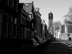 Lange Nieuwstraat, Utrecht © Inge Hoogendoorn (ingehoogendoorn) Tags: utrecht dom domtoren domtower city dutchcity citysymbol shadow brightday brightlight darkshadows sharpshadows harhlight sprin streetview cityscape