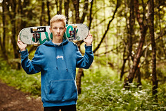 Steinar (LalliSig) Tags: confirmation ferming fermingarmyndataka people portrait portraiture outdoors blurry bokeh iceland lallisig photographer skateboard