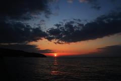Almost There (MarryGj) Tags: sunset sea cloud koper slovenia seasunset