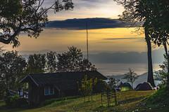 daybreak (Flutechill) Tags: landscape landscapes chiangmai doimaetaman thailand travel traveldestinations camping adventure trekking forest nature sun sunrisedawn sunshine morning dawn house