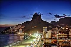 Ipanema Sunset (mirkoalbicker) Tags: brazil riodejaneiro ipanema sunset citylights scenery canon6d