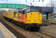 COLAS Rail 37116 - Mansfield Woodhouse (the mother '66' 66001) Tags: colasrail colas class37 37116 mansfield mansfieldwoodhouse robinhoodline railways networkrail nottinghamshire derbyrtc highmarnham