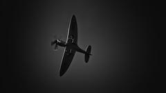 Silver Spitfire #2 (_J @BRX) Tags: battleofbritainmemorialflight bbmf supermarine spitfire mkprxix ps915 silver raf royalairforce coningsby spring april 2018 lincolnshire england uk nikon d5200 sigma griffon