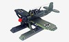 Arado 196 A3/4 (Jie Star set improved) (John C. Lamarck) Tags: lego jie star reco avion aircraft war military hydravion plane