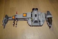 B-Wing Mod (Cpt. Ammogeddon) Tags: star wars lego moc custom ucs mini scene movie space ship vehicle mod photo real life play kid teen hobby