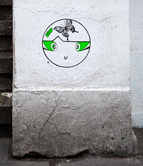 HH-Wheatpaste 3652 (cmdpirx) Tags: hamburg germany reclaim your city urban street art streetart artist kuenstler graffiti aerosol spray can paint piece painting drawing colour color farbe spraydose dose marker stift kreide chalk stencil schablone wall wand nikon d7100 paper pappe paste up pastup pastie wheatepaste wheatpaste pasted glue kleister kleber cement cutout