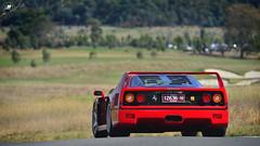 Ferrari F40 | Ferrari Club Concorso d'Eleganza | Yarra Valley  |  Melbourne  | Victoria  | Australia (Ben Molloy Automotive Photography) Tags: ferrari f40 | club concorso deleganza yarra valley melbourne victoria australia