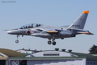 Japan Air Self Defence Force, Kawasaki T-4, 36-5709.