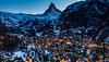 Zermatt (Armando Frei) Tags: blauestunde nacht natur wallisschweiz zermatt