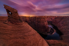 """Fin at Twilight Canyon"" (NOT HORSESHOE BEND) (Mark Metternich) Tags: ngc desert sandstone sand fin canyon canyons twilight longexposure long stars river sw southwest monsoon monsoons thunderstorm thunderhead surreal surrealscape dreamscape dreamy dream markmetternich markmetternichcom workshops workshop tours tour sky clouds night nightscape canon sony"