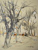 P1017966 - Copy (Gasheh) Tags: art painting drawing sketch city yerevan tree trees pencil color pastel gasheh 2018 nature