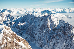 Zugspitzpanorama (Elmar Bajora Photography) Tags: bavaria bayern berg deutschland europa europe gapa garmisch partenkirchen garmischpartenkirchen gebirge germany mountain mountains snow top white winter zugspitze topofgermany