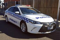 Victoria Police Toyota Camry Hybrid (Dr. Keats) Tags: victoriapolice police toyota camry hybrid car sedan flickr chriskeating drkeats vicpol australia