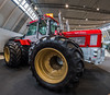 ProfiGigant (muman71) Tags: dscf2475 fisheye fuji retroclassic stuttgart schlüter traktor gigant profigigant hdr 2018