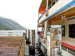IMG_0123 European Sites (Cyberlens 40D) Tags: switzerland european cities sightseeing cruises pier docks ships travel overcast clouds mountains lakes