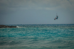 Big air near Compass Cay