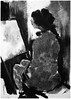 P1017998 - Copy (Gasheh) Tags: art painting drawing sketch portrait student figure girl line pen charcoal gasheh 2018