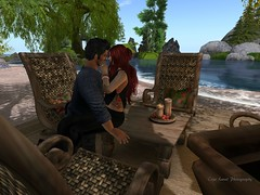 All of me is for all of you (cejalaval) Tags: secondlife sl romance redhead couples love beach tattoo kiss willowdale