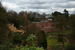 Quarry Bank Mill (Eddie Crutchley) Tags: europe england cheshire styal outdoor trees quarrybankmill historicbuilding gardens simplysuperb nationaltrust museum cottonmill greatphotographers