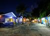 Oistin's Fish Fry in Barbados (` Toshio ') Tags: toshio barbados caribbean oistinsfishfry oistin shops island tropical colorful palmtrees night fujixt2 xt2