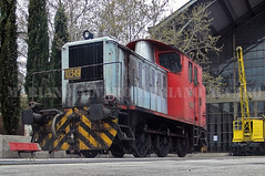 303.049 12 (Mariano Alvaro) Tags: 303 049 10349 renfe maniobras tractor diesel museo ferrocarril delicias bielas vias tren trenes