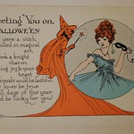 Vintage Halloween Postcard thumbnail