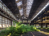 Giant Greenhouse (_NeQo_) Tags: abandoned architecture decayed désaffecter derelict dust exploring forgotten factory green industrialarcheology industry lost metal rust sunbeam urban symmetry z