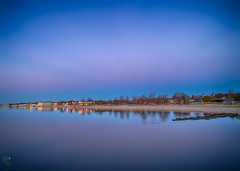 Morning Blues (Singing With Light) Tags: 2016 2017 20th alpha6500 ct charlesisland duckpond february milford mirrorless singingwithlight a6500 beach photography singingwithlightphotography sony sunrise walnutbeach winter