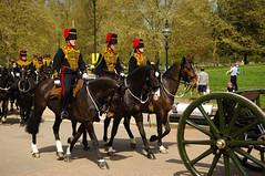 The Queen's 2018 Birthday gun salute - 57 (D.Ski) Tags: 2018 queens queen birthday gun salute royal park horse horses april westminster london nikon 2470mm 200500mm thekingstrooprha thekingstroop parade thequeen hydepark d700 nikond700