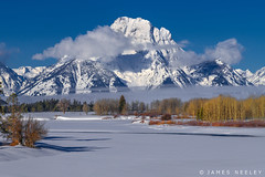 Winter Peace (James Neeley) Tags: tetons grandtetonnationalpark mountmoran oxbowbend landscape jamesneeley