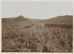Άποψη της Αθήνας από την Ακρόπολη, 1901. (Giannis Giannakitsas) Tags: αθηνα athens athen athenes greece grece griechenland 1901