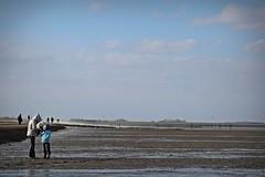 Nordsee (frucht-drops) Tags: nordsee northsea norddeich strand watt wattenmeer sturm storm stürmisch stormy sonnig sunny wolken clouds märz march drausen outside meer sea landschaft landscape
