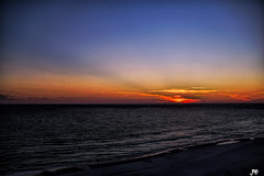 "Panama City Beach, Florida USA (crimsontideguy-from ""Sweet Home Alabama"" USA) Tags: beach sunset water gulfofmexico panamacitybeach florida seascapes seashore skies sea sand photoshop nikon nature home"