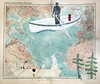 explorers (Camilla Engman) Tags: paper vintage vintagepaper map vintagemap boat travellers explorers rowing collage papercollage