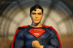 the real superman (photos4dreams) Tags: superman clarkkent smallville photos4dreams p4d photos4dreamz actionfigure actionfigur ken mattel christopherreeve ooak handpainted oneofakind dollartist design cape robe muscles kalel hero held dc comic