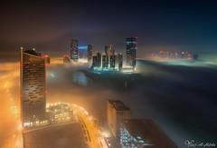 Wonderland (Yousef Al-Habshi) Tags: nikonmea uae abu dhabi fog yousef al habshi nikon d850 cityscape night