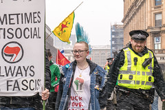 Glasgow Pro Palestine March 03/18 (Pretty in Punk) (johnawatson) Tags: glasgow scotland politics canon 80d ef2470mmf4lisusm activism demonstration street urban antiracism protest march antifacism