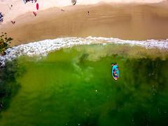 Copacabana Beach - Rio de Janeiro - Brazil (andersonkem) Tags: copacabana praia riodejaneiro beach copa errejota arte picoftheday pics drone mar