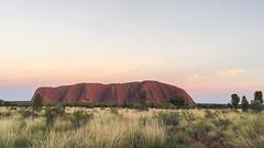 Uluru Sunrise (syf22) Tags: uluru ayresrock nationalpark australia downunder aussie oz aboriginal outback northernterritory unesco worldheritage tourist attraction famous rock sandstone sunrise morning early dawn anangu icon indigenous aurora bright dawning firstlight daybreak daylight morn sunup