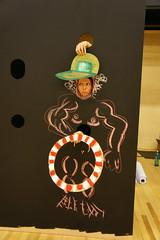 Mifactori Interactive Wall Chalk Board PIC DSC08900 (LarsZi) Tags: interactive wall chalk chalkboard photowall photo character photobooth infowall ego trip